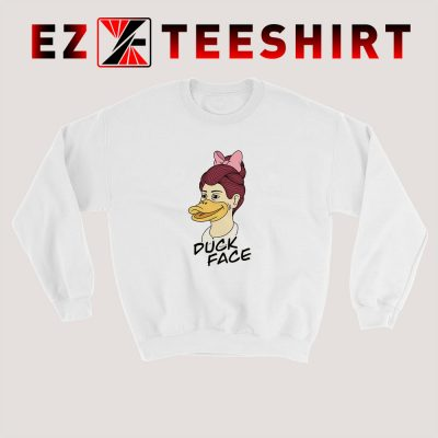 Duck Face Girl Sweatshirt 400x400 - EzTeeShirt Ezy Buy Clothing Store