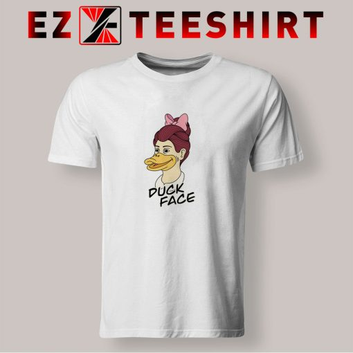 Duck Face Girl T Shirt