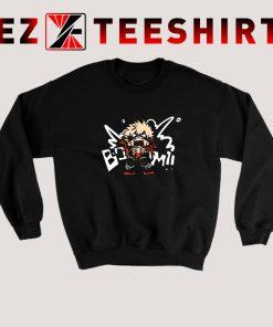Katsuki Bakugo My Hero Academia Sweatshirt