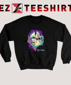 Rick And Morty Looking Through You Sweatshirt