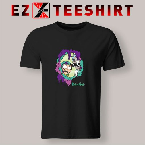 Rick And Morty Looking Through You T Shirt