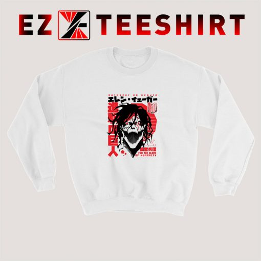 Shingeki No Kyojin Attack On Titan Sweatshirt