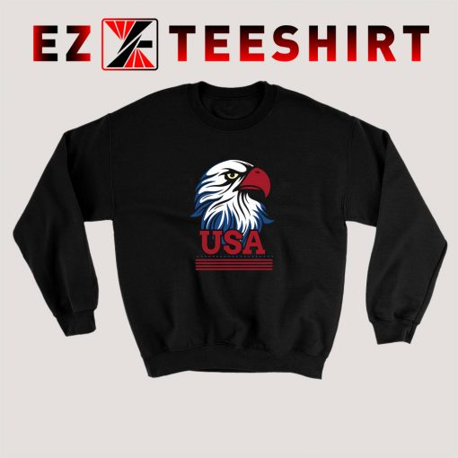 USA Eagle Independence Day Sweatshirt