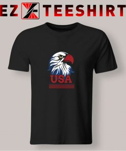 USA Eagle Independence Day T Shirt